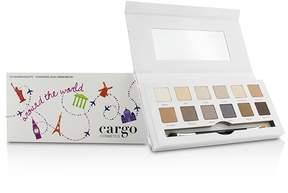 CARGO Around the World Eye Shadow Palette (12x Eye Shadow, 1x Shadow Brush)