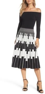 Eliza J Women's Off The Shoulder Midi Dress