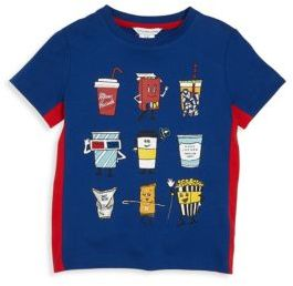 Little Marc Jacobs Toddler's, Little Boy's & Boy's American Movies Two-Toned T-Shirt