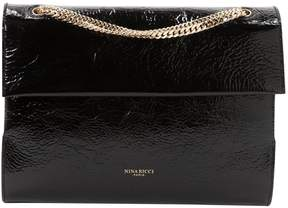 Nina Ricci Black Patent leather Handbag