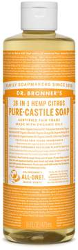 Dr. Bronner's Organic Citrus Orange Castile Soap by 16oz Liquid Soap)