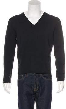 Gucci Silk V-Neck Sweater