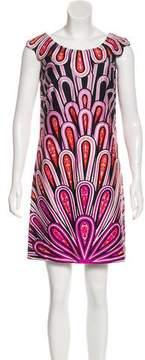 Anna Sui Printed Mini Dress w/ Tags