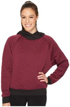 Lucy Full Potential Quilted Pullover Women's Long Sleeve Pullover