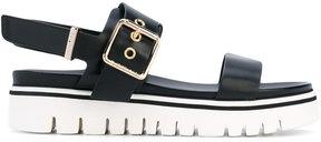 Baldinini ridged sandals
