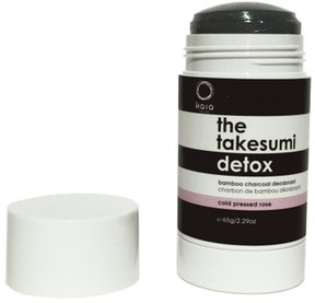 Juicy Bamboo The Takesumi Detox Charcoal Deodorant Cold Pressed Rose