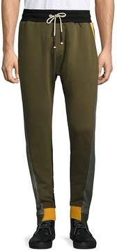 Mostly Heard Rarely Seen Men's Colorblocked Cotton Pants