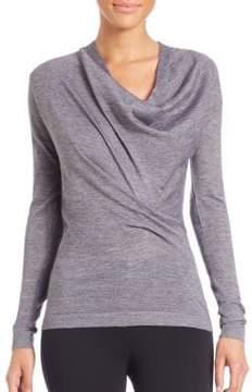 Derek Lam Draped Cowlneck Sweater