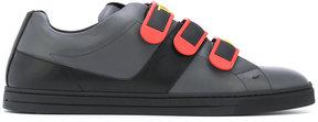 Fendi appliqué sneakers