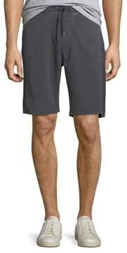 John Varvatos Burnout French Terry Cloth Shorts