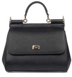 Dolce & Gabbana Dolce E Gabbana Women's Black Leather Handbag. - BLACK - STYLE
