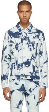 Loewe Blue Bleached Denim Jacket
