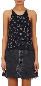 Amiri Women's Star-Embroidered Halter Top