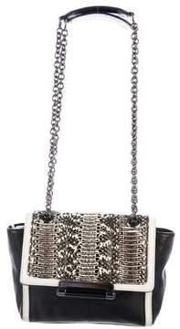 Diane von Furstenberg Mini Snakeskin-Trimmed 440 Ombré Bag