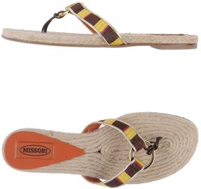 Missoni Toe strap sandals