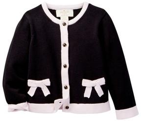 Kate Spade pocket cardigan (Baby Girls)