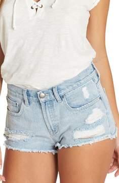 Billabong Drift Away Cutoff Denim Shorts