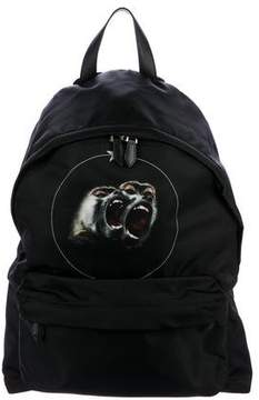 Givenchy Nylon Monkey Brothers Backpack