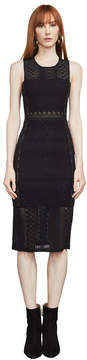 BCBGMAXAZRIA Sita Geometric Lace Dress