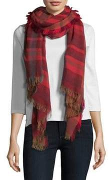 Echo Sheer Stripe Scarf