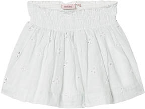 Mini A Ture Noa Noa Miniature Cloud Blue Flower Embroidered Short Skirt