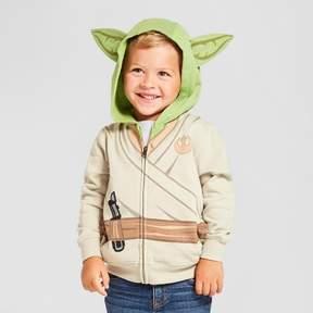 Star Wars Toddler Boys' Yoda Costume Hoodie - White