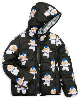 Fendi Little Girl's & Girl's Reversible Fendirumi Jacket