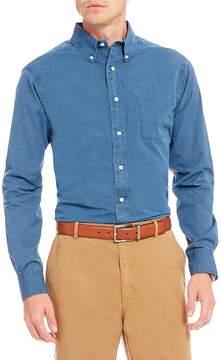 Daniel Cremieux Slim-Fit Dobby Textured Long-Sleeve Woven Shirt