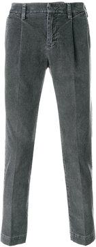 Entre Amis front pleat trousers