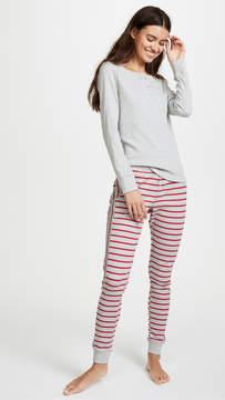 Calvin Klein Underwear Minimal Stripe PJ Set