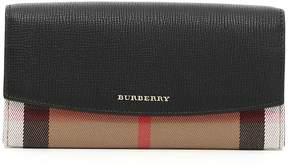 Burberry Porter Wallet - BLACK BEIGE - STYLE
