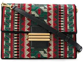 Etro geometric Rainbow shoulder bag