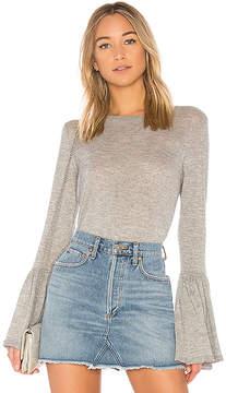 Autumn Cashmere Ruffle Cuff Sweater