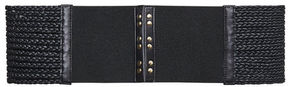 BCBGMAXAZRIA Braided Waist Belt