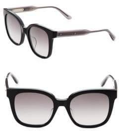 Bottega Veneta 52MM Rectangle Sunglasses
