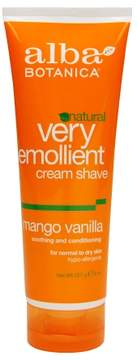 Alba Botanica Moisturizing Shave Cream Mango Vanilla