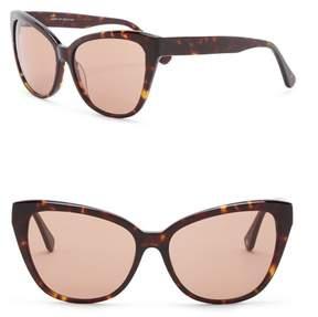 Joe's Jeans Cat Eye 59mm Sunglasses
