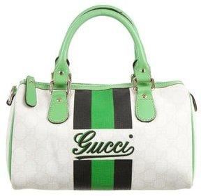 Gucci Mini GG Plus Boston Bag - WHITE - STYLE