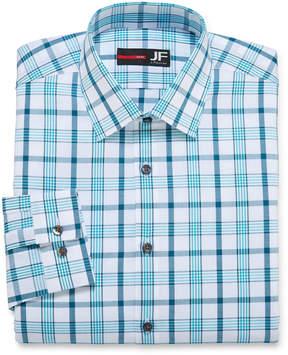 Jf J.Ferrar JF Long-Sleeve Cotton Stretch Dress Shirt - Slim Fit
