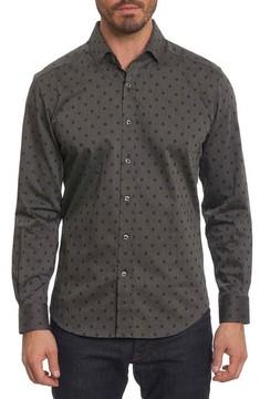 Robert Graham Men's Gabe Tailored Fit Sport Shirt