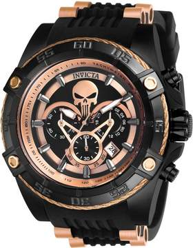 Invicta Marvel Chronograph Black Dial Men's Watch
