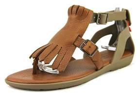 Hunter Womens Wfd1053lpv Split Toe Casual Slingback Sandals.
