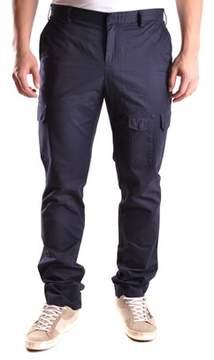 Gant Men's Blue Cotton Pants.