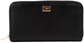 Dolce & Gabbana Wallet Zip Around - NERO - STYLE