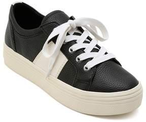 Dolce Vita Women's Tavina Leather Lace Up Platform Sneakers