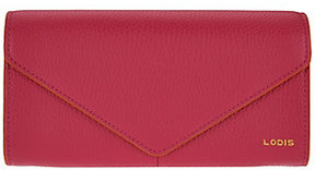 Lodis As Is Italian Leather Organizer Wallet with RFID Protection