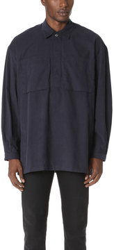 E. Tautz Corduroy Long Sleeve Overshirt