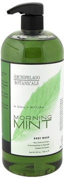 Archipelago Botanicals Morning Mint Body Wash by 32oz Shower Gel)