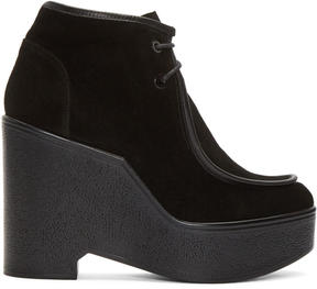 Robert Clergerie Black Bora Boots