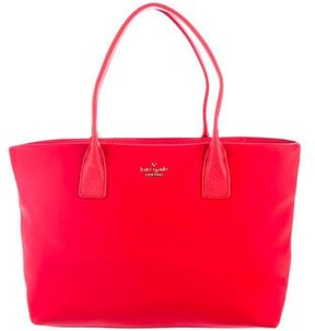 Kate Spade Classic Nylon Caite Tote - RED - STYLE